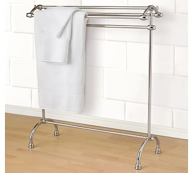 Mercer Towel Stand Pottery Barn