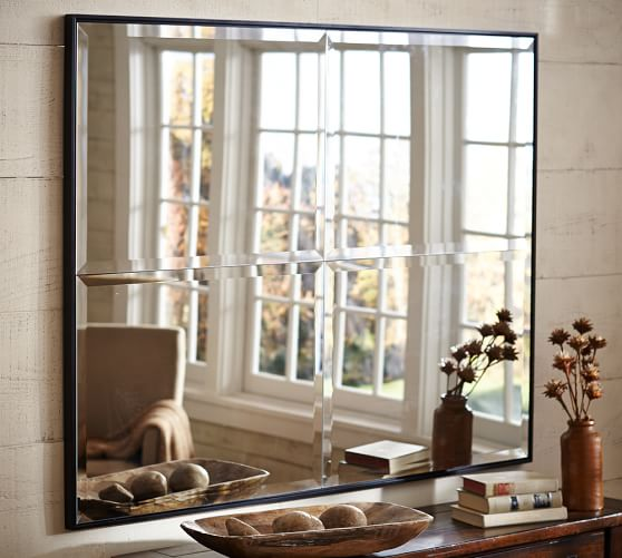 Brinkley Wall Mirror Pottery Barn