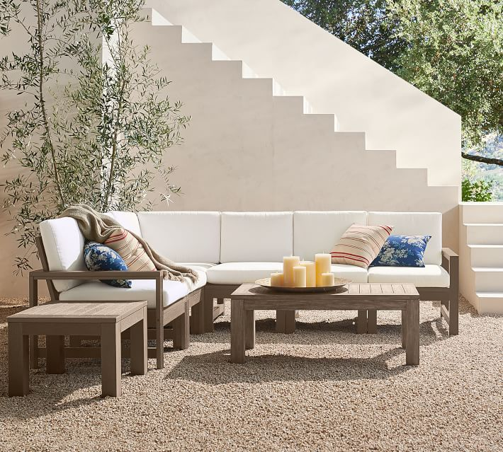Perfect Pair Indio By Polywood 6 Piece Sectional Indio