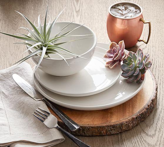 Joshua Stoneware 16-Piece Dinnerware Set