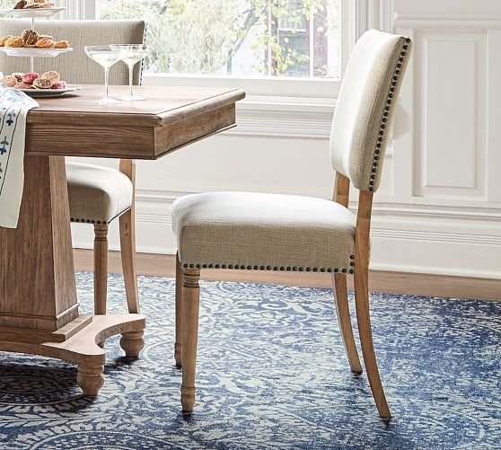 Venice Wooden Dining Chair Pottery Barn