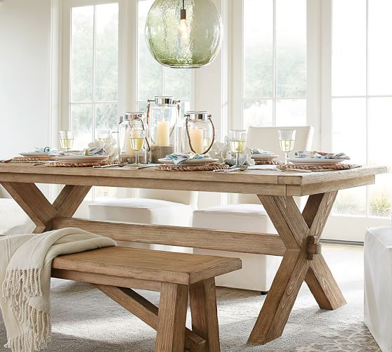 Toscana Dining Table Seadrift Pottery Barn