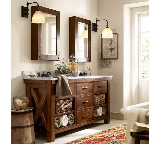 Benchwright Wall Mounted Medicine Cabinet Pottery Barn