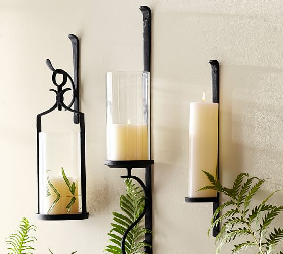 Artisanal Wall Mount Candle Holder Pottery Barn
