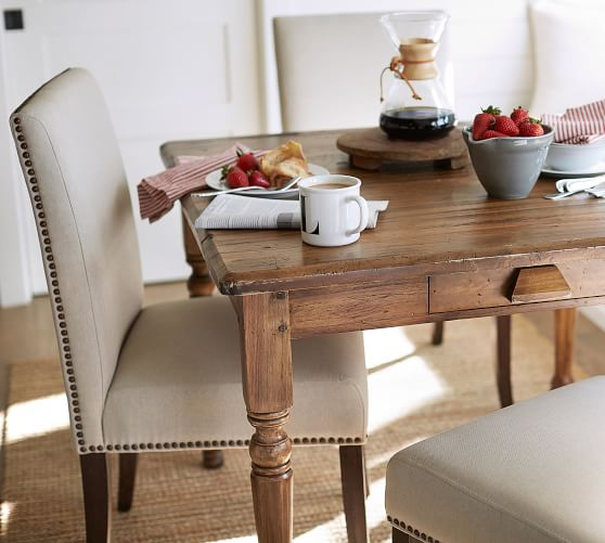 Porter Upholstered Dining Chair Pottery Barn