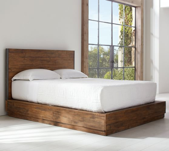 big daddy s antiques reclaimed wood platform bed