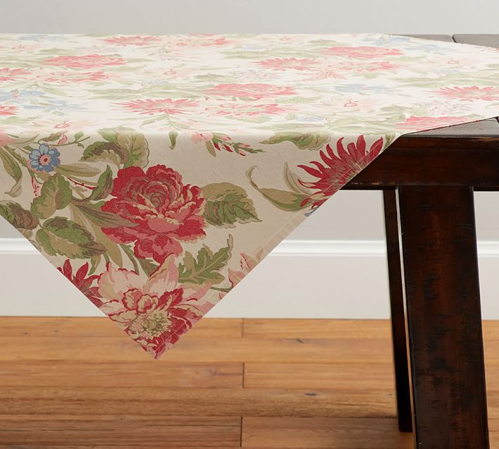 Marla Floral Table Throw Pottery Barn