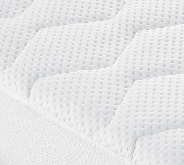 Hydrocool Down Alternative Mattress Pad Pottery Barn