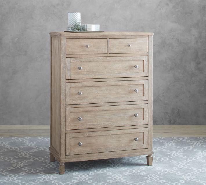 Sausalito 6 Drawer Tall Dresser