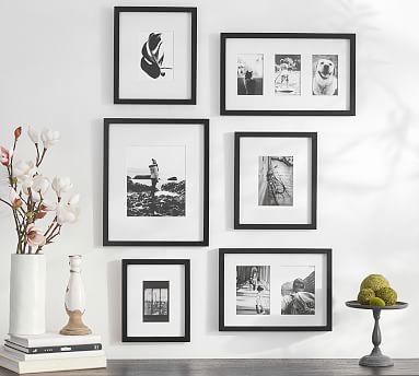 Wood Gallery Frames in a Box   Pottery Barn