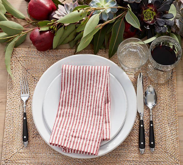 Tava Rectangle Placemat Pottery Barn
