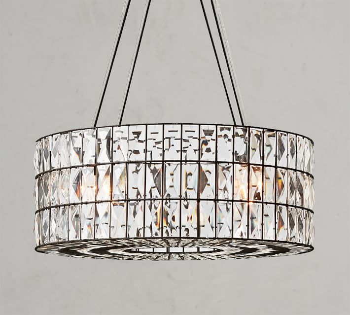 Shop Adeline Crystal Chandelier from Pottery Barn on Openhaus