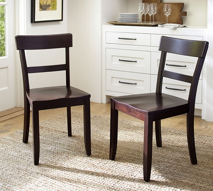 Pottery Barn Spencer Leather Dining Chairs - AptDeco |Delaney Dining Chair Pottery Barn