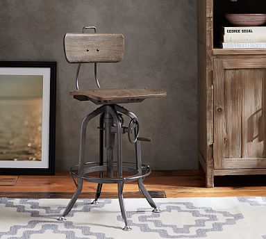 Pittsburgh Adjustable Height Chair Pottery Barn