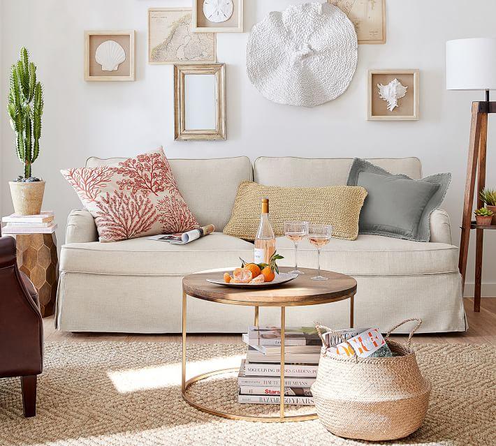 Hawthorne English Arm Slipcovered Sofa