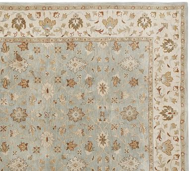 Malika Persian Style Hand Tufted Wool Rug Swatch Pottery
