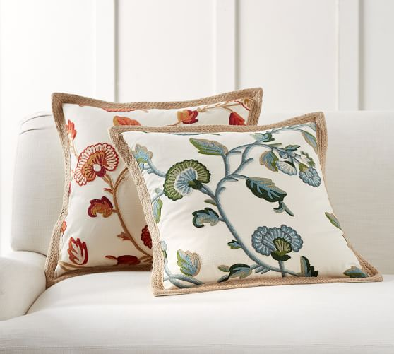Anese Decorative Pillow Cover | Pottery Barn