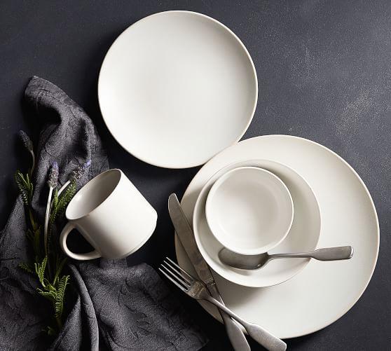 Mason Stoneware 16-Piece Dinnerware Set - Ivory