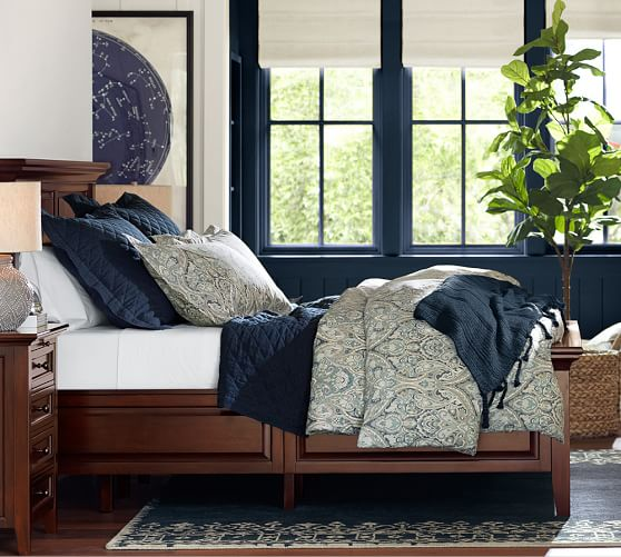 Hudson Storage Platform Bed Pottery Barn