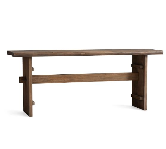 Easton 74 Reclaimed Wood Console Table Pottery Barn