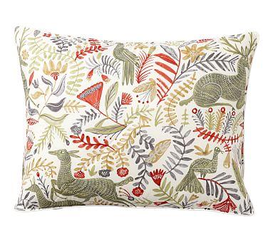 Llew Deer Reversible Comforter Amp Pillow Sham Pottery Barn
