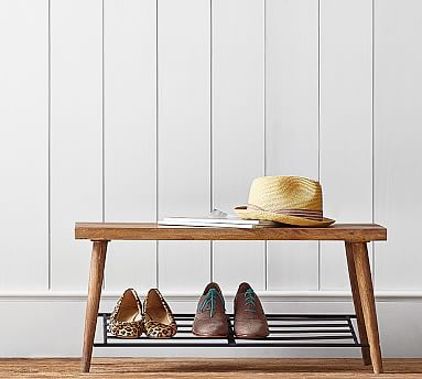 Lucy Shoe Rack Pottery Barn