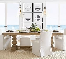 Seats 8 10 Dining Tables Pottery Barn