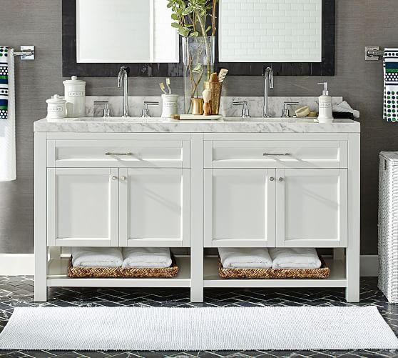 Piedmont 60 Double Sink Vanity