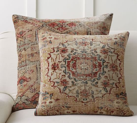 Abella Printed Decorative Pillow Cover | Pottery Barn