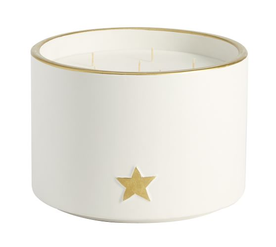 Ceramic Icon Scented Candle Collection Pottery Barn