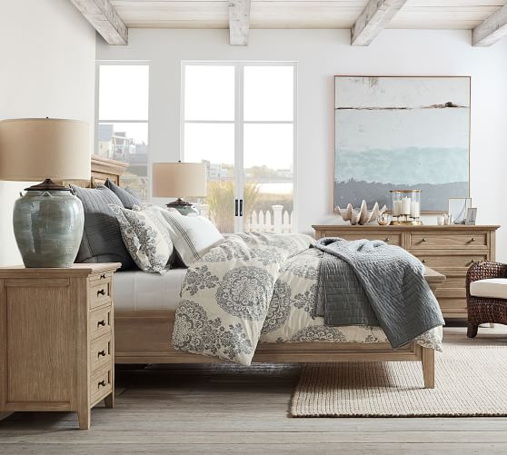 Hudson Bed Wooden Beds Pottery Barn