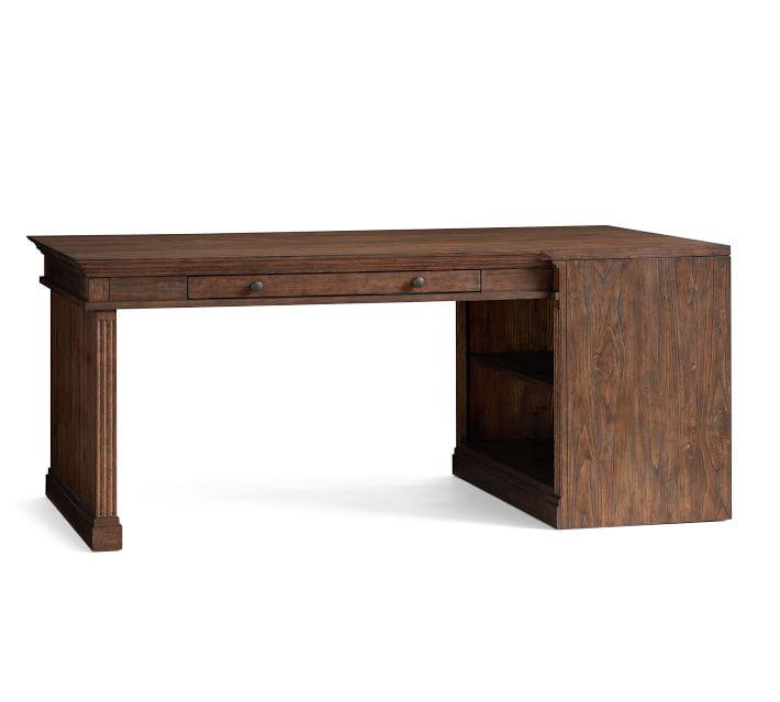 "Livingston 72"" Peninsula Desk"