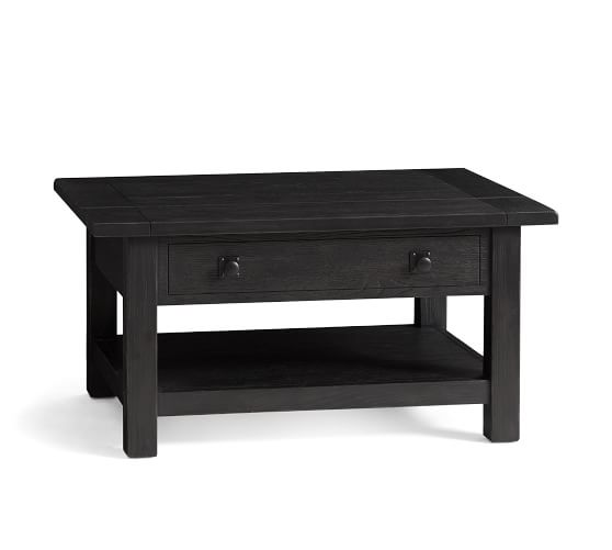 Benchwright 36 Lift Top Coffee Table Pottery Barn