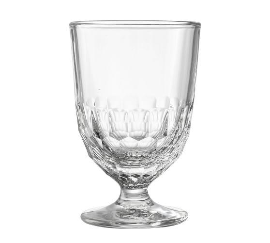 La Rochere Artois Glass Goblet Set Of 6 Pottery Barn