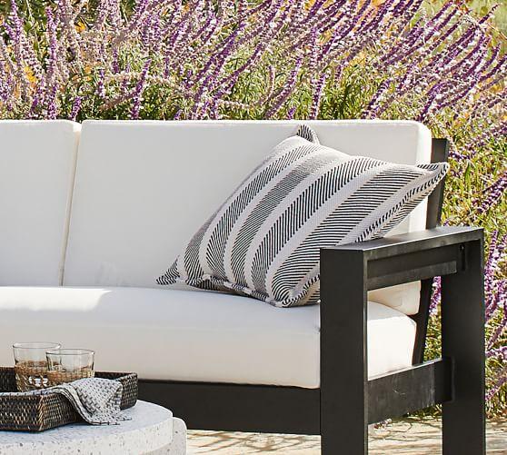 Malibu Metal Outdoor Furniture Cushion, Colorful Outdoor Furniture