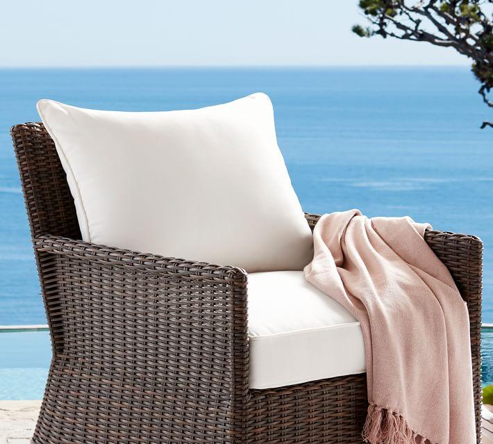 Cushions On Wicker Chairs, Wicker Chair Cushion Slipcovers