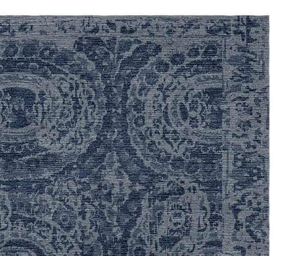 Bosworth Hand Tufted Wool Rug Pottery Barn