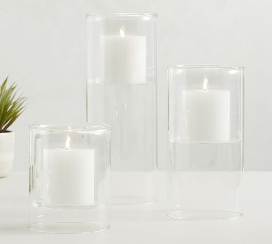 Floating Glass Candle Holders Pottery Barn