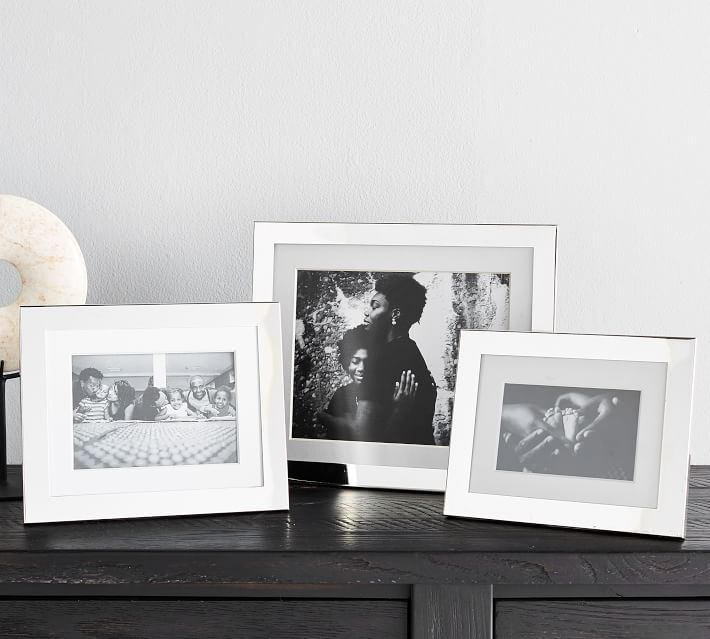 Personalized Silver Plated Engravable Frames Pottery Barn