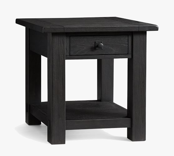 Benchwright 24 Square End Table Pottery Barn