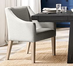 Dining Chairs Modern Farmhouse Menlo Dining Room Pottery Barn
