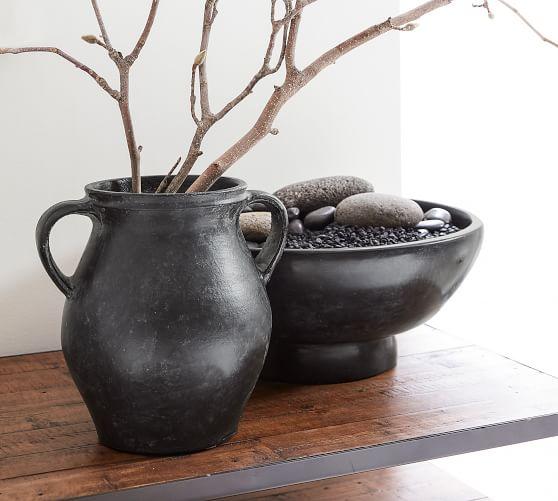 Joshua Handcrafted Ceramic Vases Pottery Barn