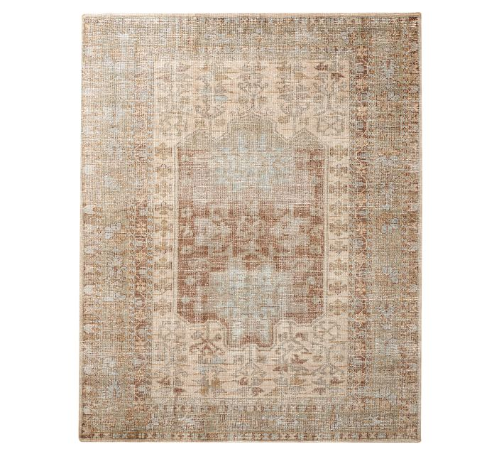 Arlet Hand Knotted Wool Rug Pottery Barn
