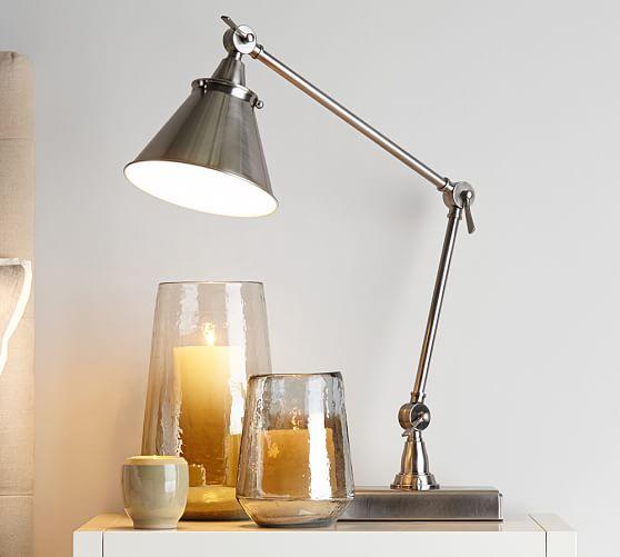 Architect S Smart Technology Adjustable Task Table Lamp Pottery Barn