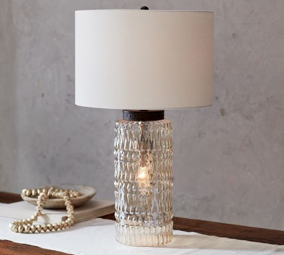 Lenore Cylinder Table Lamp Pottery Barn