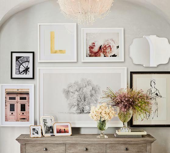 Eleanor Frameless Wall Mirrors Pottery Barn