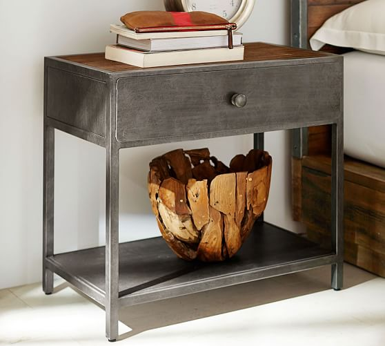 Big Daddy S Antiques 29 Metal Nightstand Pottery Barn