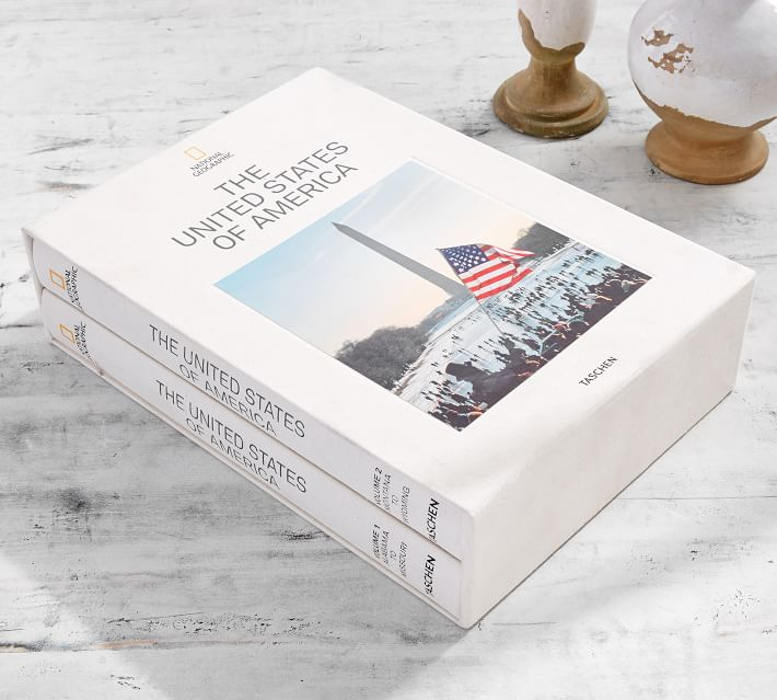 National Geographic United States Of America Coffee Table Book Pottery Barn
