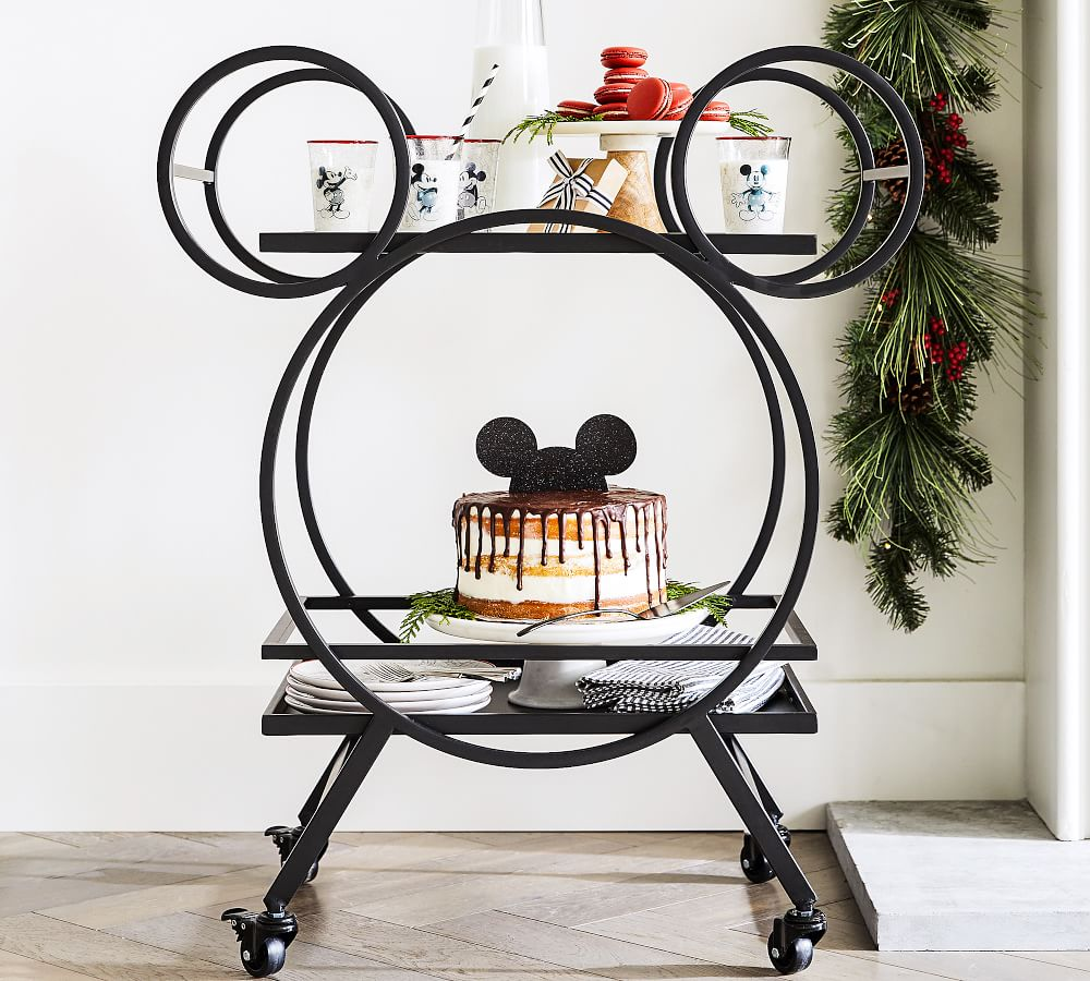 Disney Mickey Mouse 30 5 Kitchen Cart Pottery Barn