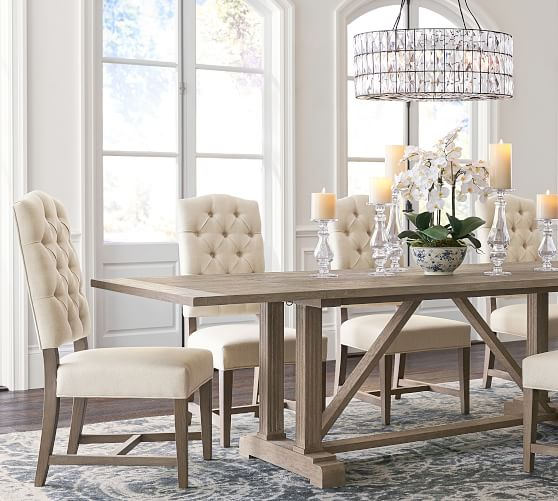 White Upholstered Dining Chairs With, White Upholstered Dining Room Chairs